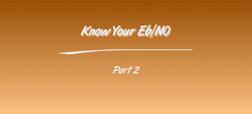 Know Your Eb/N0 part 2